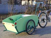 Прицеп для велосипеда - грузовая тележка Везун-1 ЗЕ