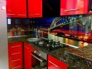 Скинали, -стеклянные кухонные фартуки с фото.