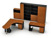 Офисная мебель на заказ любой сложности из ДСП и МДФ  -