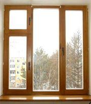 Деревянные окна (сосна,  дуб,  лиственница) от фабрики Открытые окна
