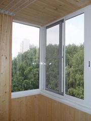 Остекление балконов и лоджий – фабрика окон Открытые окна.