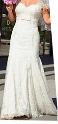 Изысканное свадебное платье в идеальном состоянии,  р.42-46, рост160-167