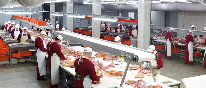 В канун Нового года в Чебоксарах заработал мясокомбинат