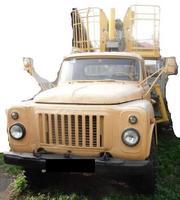 Продаем автоподъемник тросовый,  локтевой АП-12,  ГАЗ 5327,  1979 г.в.