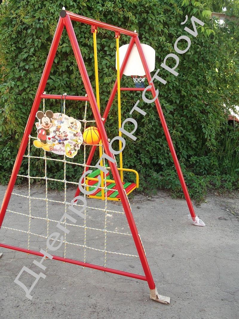 Как сделать во дворе детские качели
