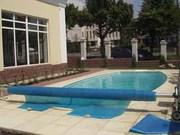 Летнее накрытие для бассейна (солярная пленка,  сматывающие устройства)