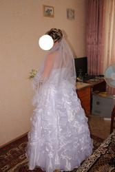 Предлагаю свадебное платье по приемлемой цене