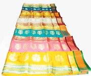 САРИ РУДРАКШ - индийская изысканная красочная ткань