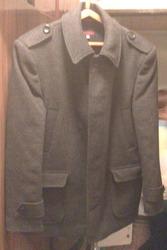 Пальто укороченное мужское.
