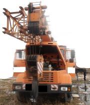 Продаем автокран КТА-28.02 Силач,  г/п 28 тонн,  КрАЗ 65053,  2007 г.в.