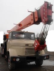 Продаем автокран Силач КС-4574А,  2005 г. в. , КрАЗ 65101,  1994 г.в.