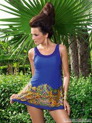 Цельный утягивающий купальник платье  WPBQ081405 Шарманте в Украине