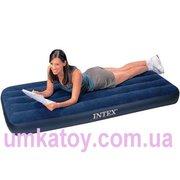 Продажа надувного велюрового матраса Intex 68950