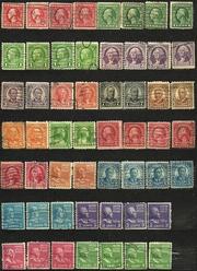 Почтовые марки США и других стран