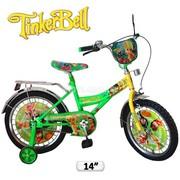 Детские двухколесные велосипеды с вспомогательными колёсами