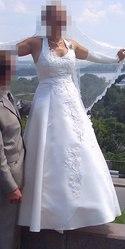 Свадебное платье цвета