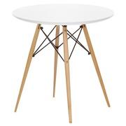 Обеденный деревянный круглый стол Тауэр ВУД