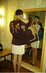 Продам куртку из кашемира с лисой
