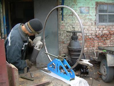 Трубогиб прокатный роликовый ручной ТПРР-1 - Ремонт и строительство