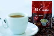 Кофе раcворимый 3 в 1 «Крепкий» ТМ «El Gresso»