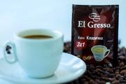 Кофе раcворимый 3 в 1«Классический» ТМ «El Gresso»