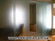 Изготовление дверей из стекла Украина