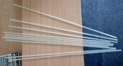 Палочки,  трубочки пластиковые 450 на 4 мм