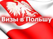 Быстро Польская виза,  дёшево.