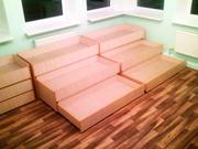 Детская кровать трансформер пенал трёхъярусная в Днепропетровске.