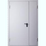 Двери двупольные металлические,  двери двупольные противопожарные