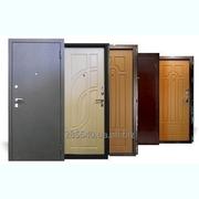 Двери металлические входные в квартиру,  дом с МДФ-накладкой