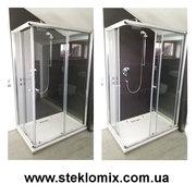 Душевые шторки из стекла под заказ с доставкой по Украине