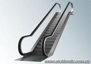 Стеклянные ограждения для эскалаторов и подъемников,  стекло на эскалат