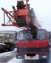 Продаем автокран КРАЯН КС-6473,  50 тонн,  на шасси МАЗ 69234,  1993 г.в.