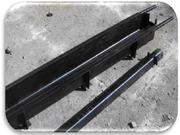 Железные формы для столбов под бетонное ограждение (еврозабор)