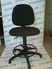 Продам бу стулья офисные,  для персонала,  высокие.