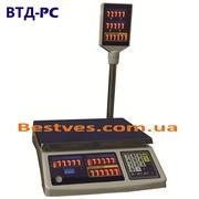 Весы торговые с подключением к ПК (ВТД-PC)