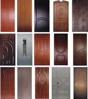 Обшивка входных дверей влагостойкими дверными накладками