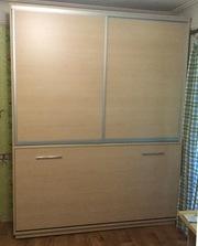 Шкафы-кровати с вертикальным и горизонтальным способом открытия от производителя.