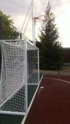 футбольные ворота 3000х2000 с баскетбольным щитом 900х600 или 1200х900