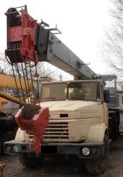 Продаем автокран Силач КС-4574,  20 тонн,  КРАЗ 65101,  1993 г.в.