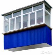 Балкон под ключ Днепр от 5000 грн. Акция!