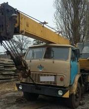 Продаем автокран КС-3577-1 Ивановец,  12, 5 тонн,  МАЗ 5334,  1986 г.в.