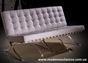 Дизайнерский диван Барселона,  белый