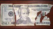 Обмен испорченных,  горелых,  прелых купюр долларов,  евро и т.д.