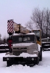 Продаем автокран ДАК КС-3575А-1,  14 тонн,  КрАЗ 250,  1993 г.в.