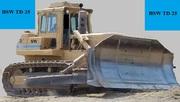 Продаем гусеничный бульдозер Stalowa Wola TD-25,  2002 г.в.